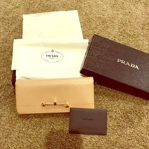 Authentic Prada wallet